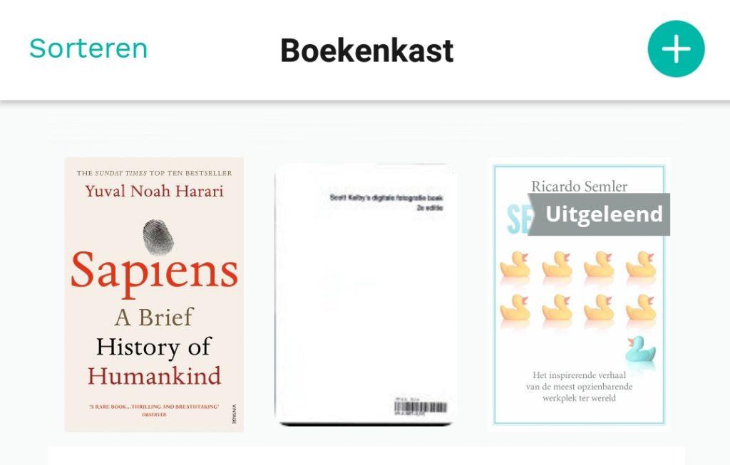 Uitgeleende boeken
